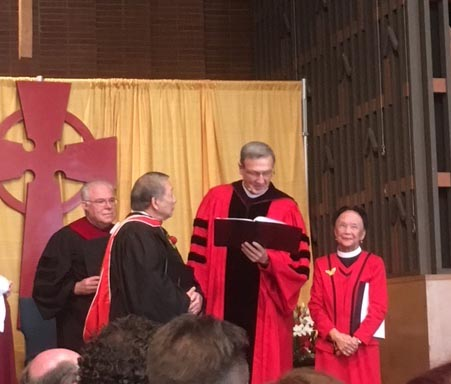 Peter Ng honorary doctorate
